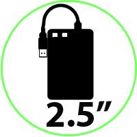 HDD 2.5'' EXTERNOS