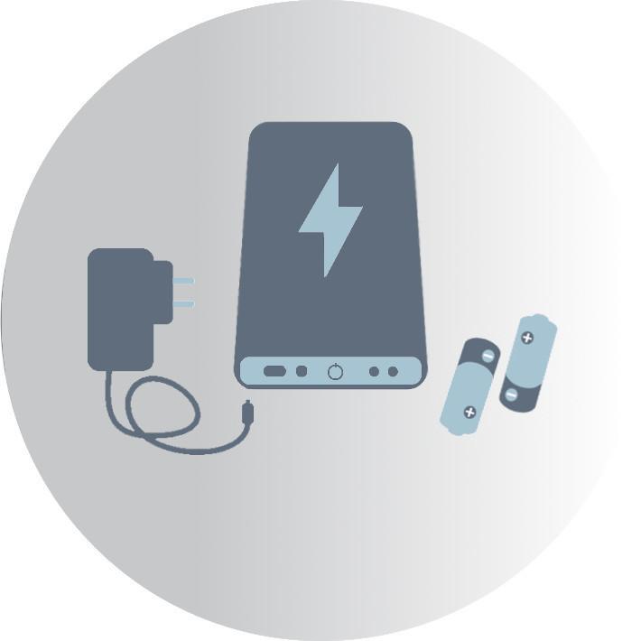 Cargadores - PowerBank - Pilas