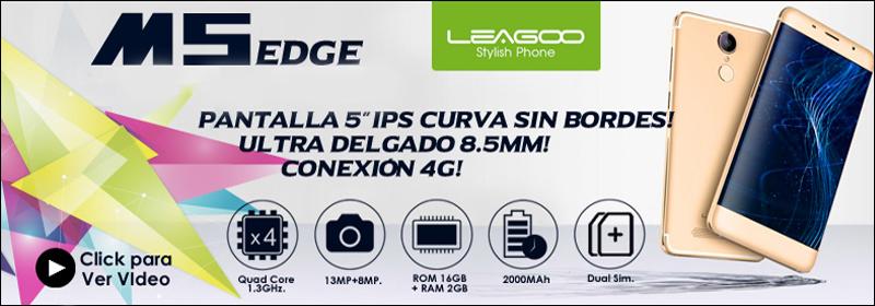 LEAGOO - M5EDGE