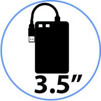 HDD 3.5'' EXTERNOS